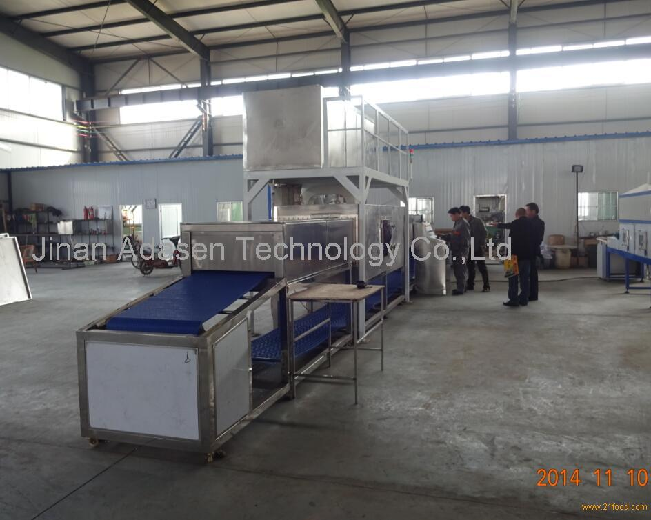 Industrial microwave frozen food thawing machine,seafood defrosting machine,thawing