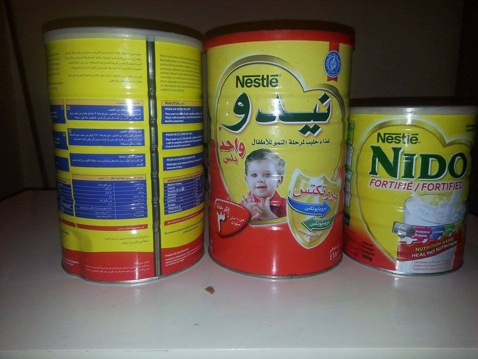 we sell NIDO NESTLE 2250G