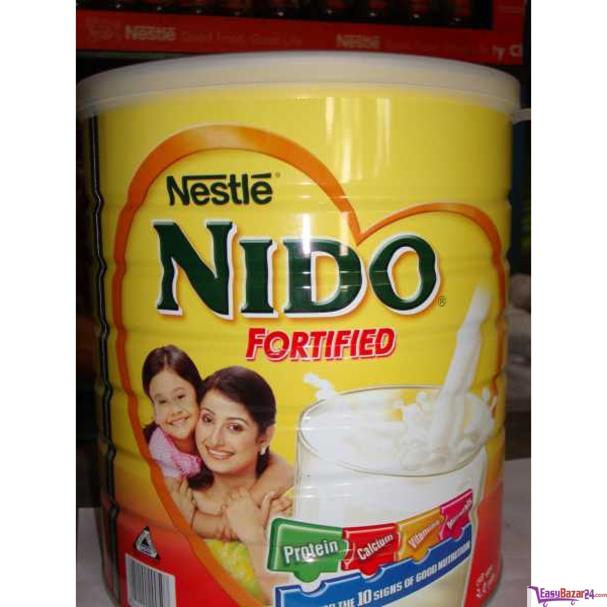 we sell Red Cap Nido Milk from Holland
