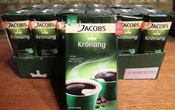 Jacobs Kronung Coffee - Original Fresh German Ground Coffee for sale