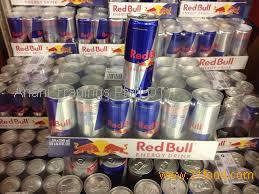 red bull 25cl empty slim aluminum can for energy drink