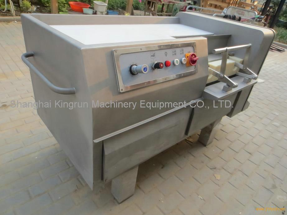 meat block dicer machine