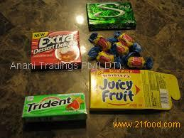 Hot nature chewing gum variety
