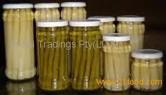 2017 High Quality IQF Frozen White Asparagus