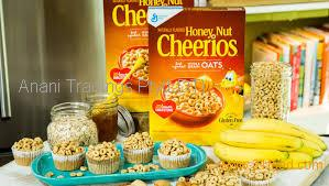 Variety Pack 10 Lucky Charms Cereal, 10 Rice Chex, 15 Honey-Nut Cheerios Cereal