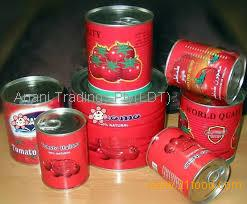 Double Concentrate Canned Tomato Paste For Sale
