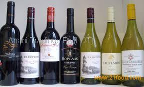 Wholesale on all south african wines