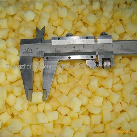 Frozen Apple Slices, Dices