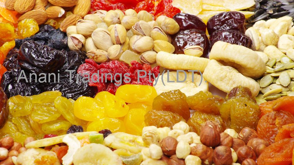 Mixed Dried Fruits Freeze Dried Banana and Strawberry Slice