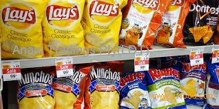 Lays,doritos,pringles,raffles potato chips,PRINGLES POTATO CHIPS 40g