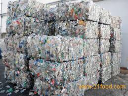 Waste Plastic PET Bottles Bales