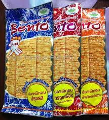 Bento Squid Chili Roast Sweet Spicy Flavor Seafood Snack 6 Grams