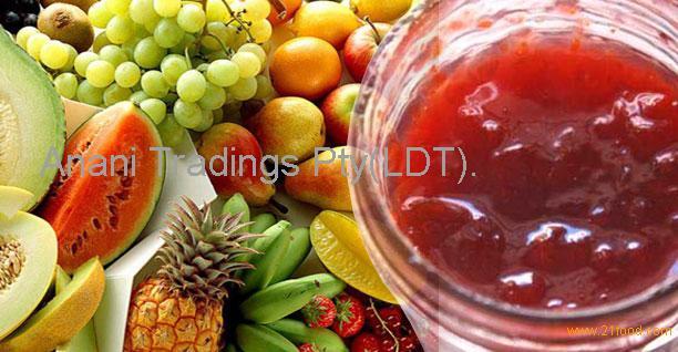 425g Mixed jam fruits