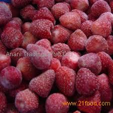 2017 Wholesale new crop Grade A/B Frozen fresh Fruits IQF Frozen Strawberry