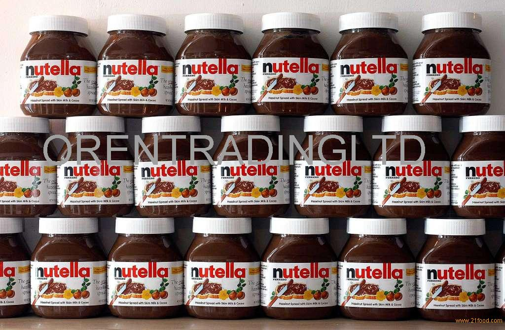 HOT SALES Ferrero Nutella 350g 400g 600g 750g 800g with Multi text available