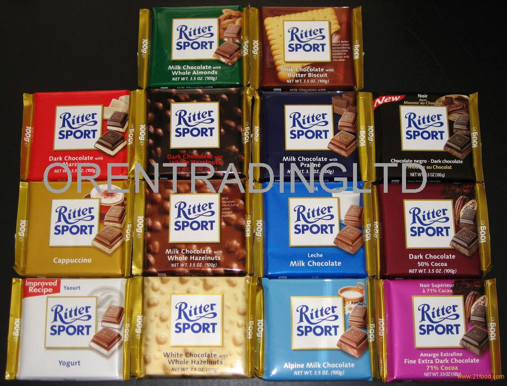 Ritter sport chocolate for sale