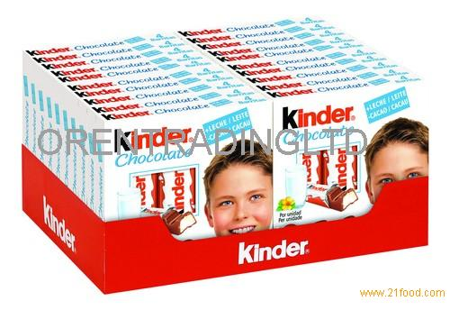 Kinder chocolate T8 for sale