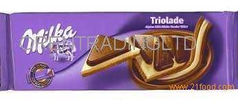 Milka triolade for sale