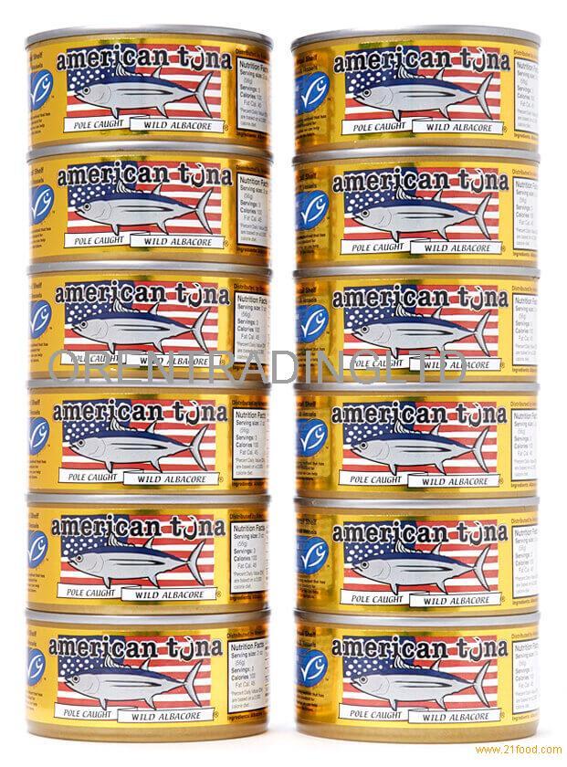 American Tuna 6oz w/Sea Salt