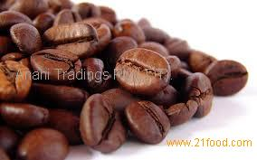 Ground coffee from the best coffee bean