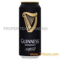 Guinness Draught Beer 44cl Cans