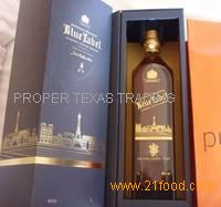 Blue Label Whiskey for Urgent Delivery