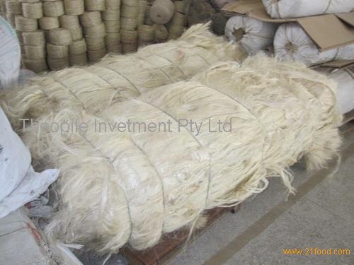UG Grade White Sisal Fiber for Sale