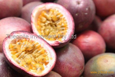 Fresh Passion Fruit, Frozen Passion Fruit