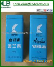 Polar Bear Brand Vanillin , Ethyl / Methyl Vanillin Powder Low Price