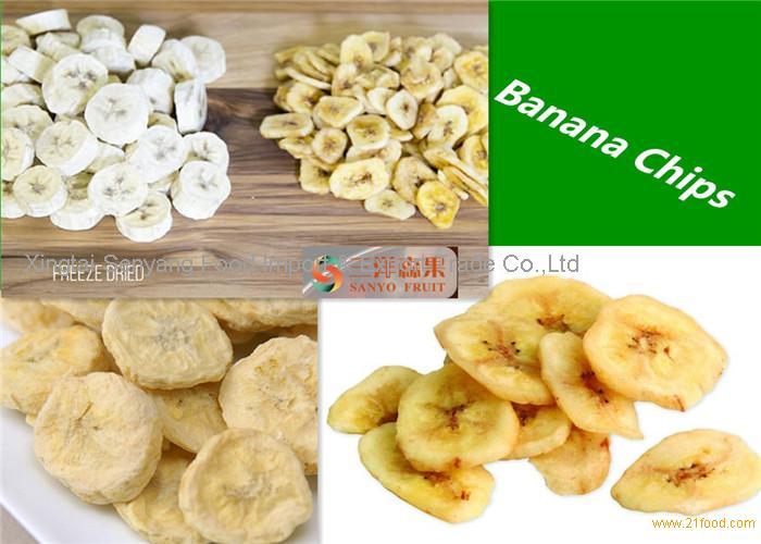 100% Pure Organic Freeze Dried Bananas