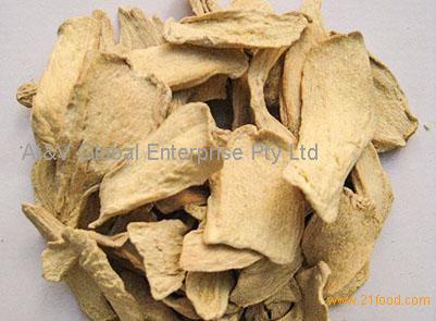Dehydrated dry Ginger Flakes