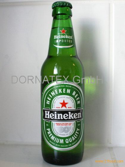 100% Beer Heineken 250 Ml Glass,Ronenbourg 1664 for sale