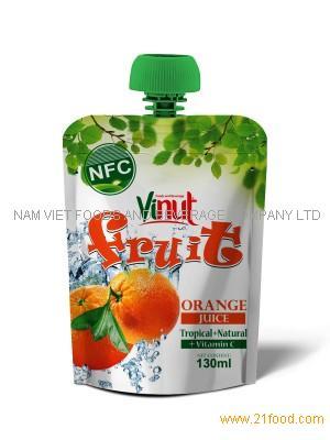 130ml Tropical Orange Juice Drink in bag