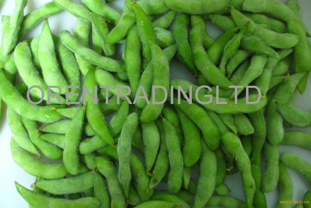 grade A frozen salted soya bean in pod for sale
