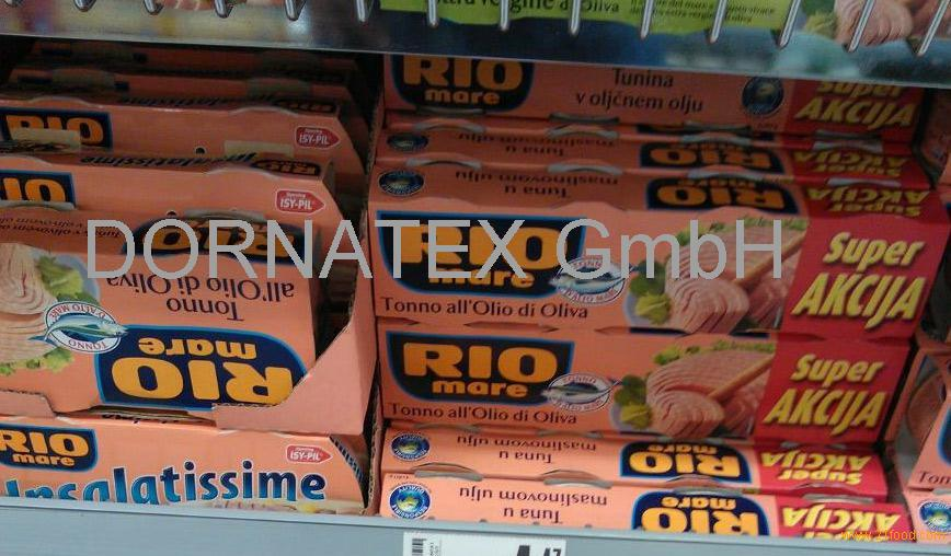 Tuna Rio Mare 3x160gr - 6x80gr