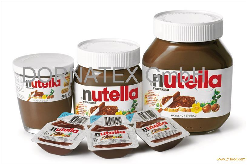 Ferrero Nutella Chocolate Spread Cream 350g, 400g, 600g, 750g, 800g