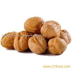 Washed walnuts