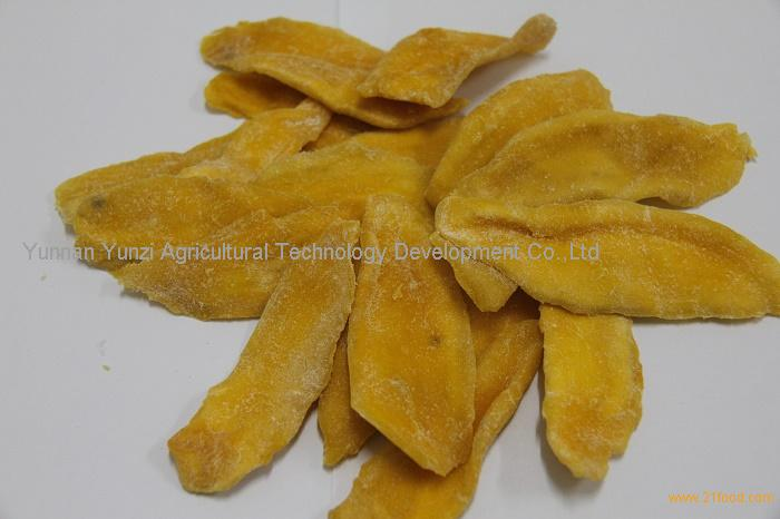 Dried mango slice