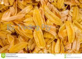 Organic Sweet Dried Banana Chips