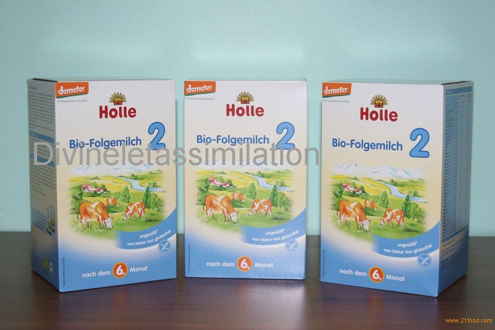 Holle milk powder