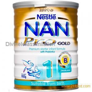 NAN milk powder