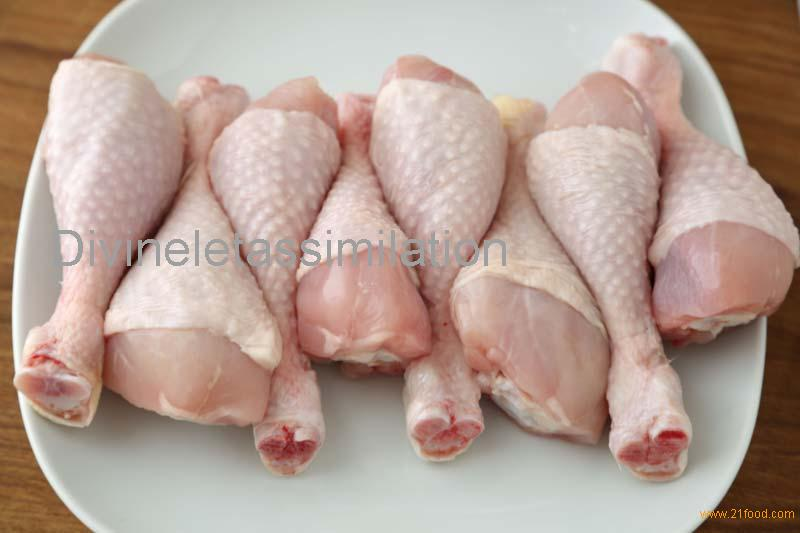 frozen chicken drumstick