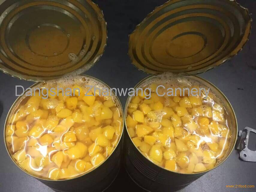 chopped peach 3kg