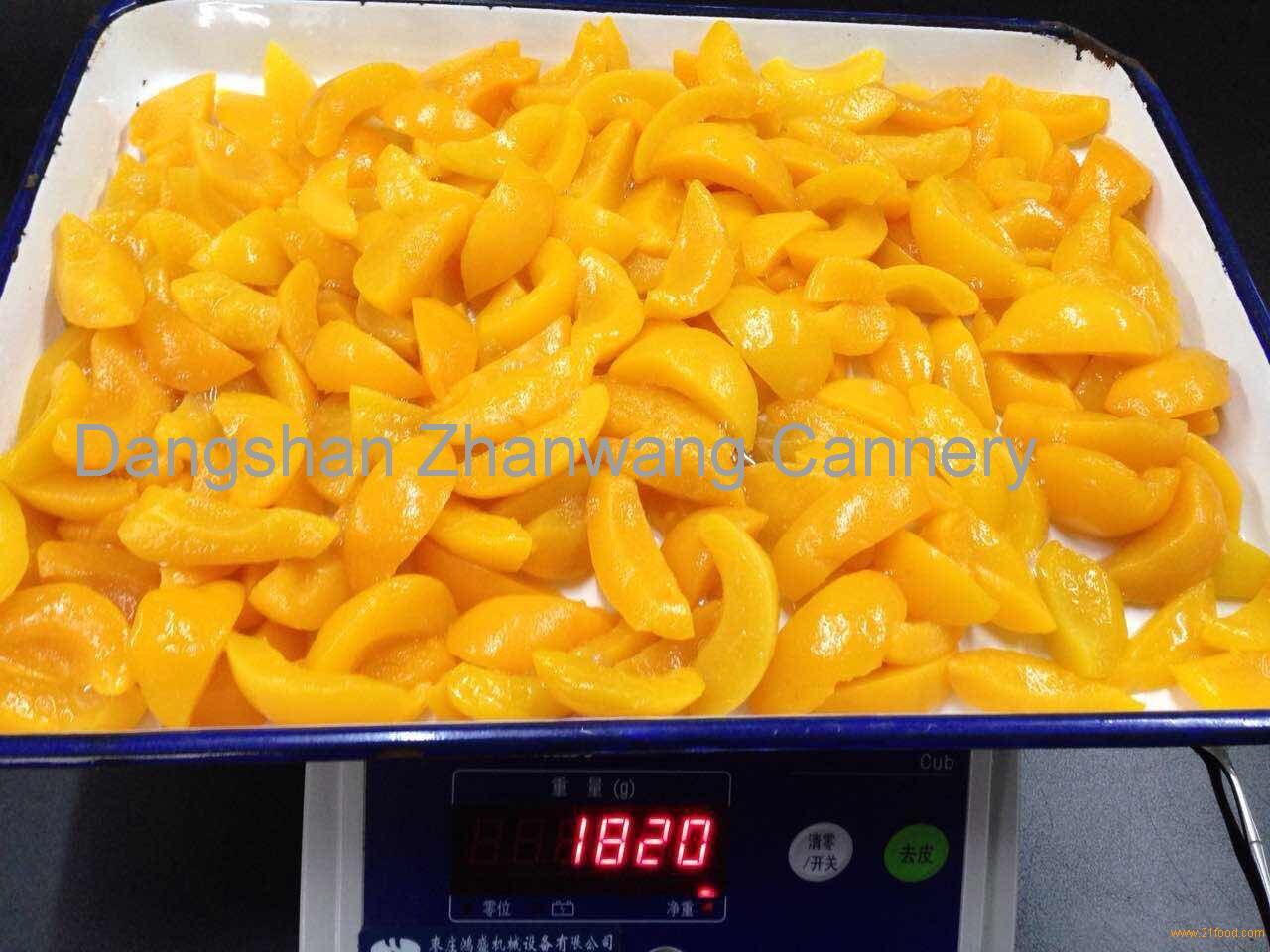 Yellow Peach Slice