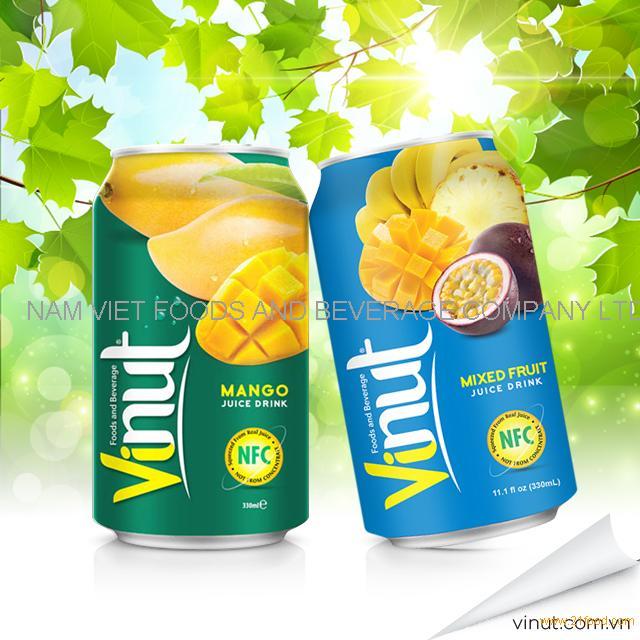 Fruit Juice Brands VINUT Canned Fruit Juice