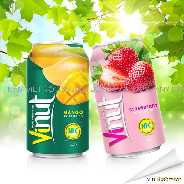 VINUT 350ml Canned Packaging Fruit Juice