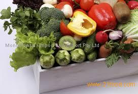 All kinds of Fresh Spicy Vegetable