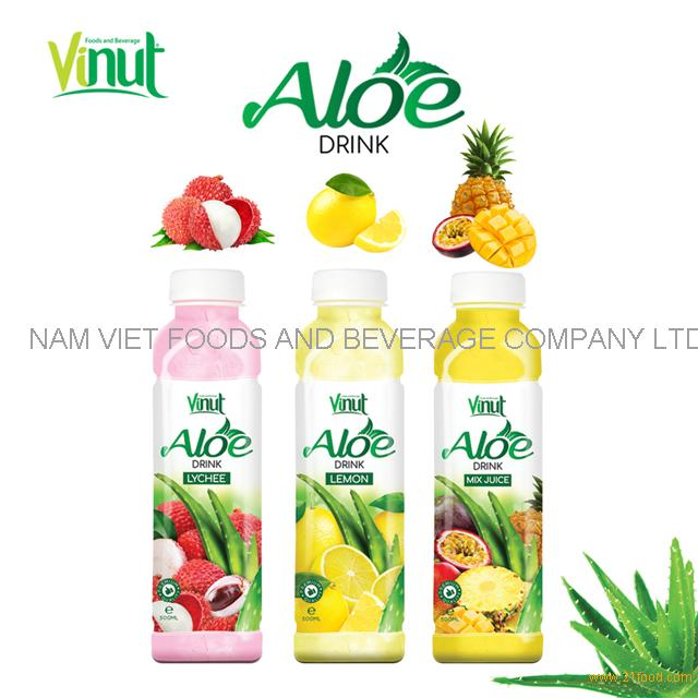 VINUT 350ml original aloe vera juice drink