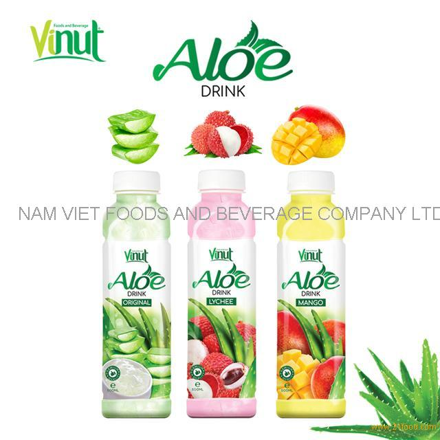 Hot sellings original tropical aloe vera drink with pulps