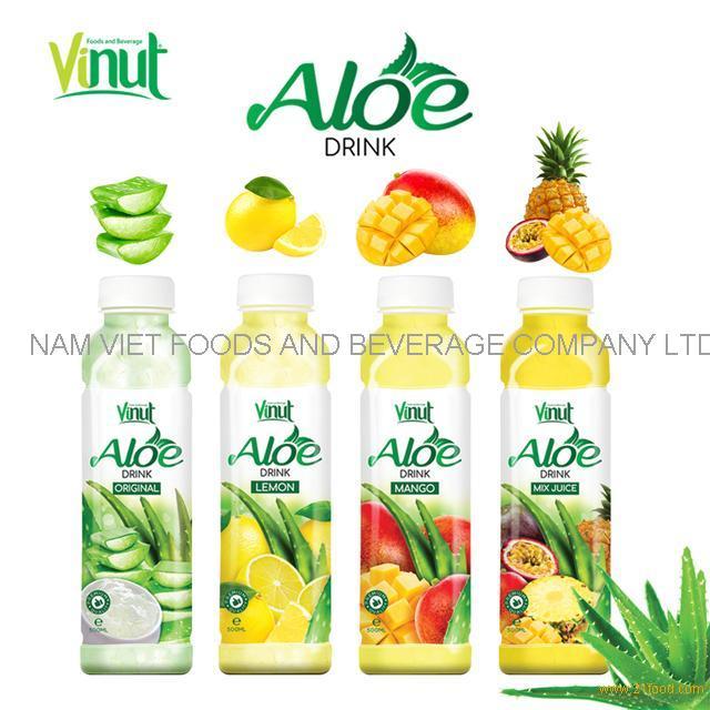 VINUT 500ml aloe vera original soft drinks